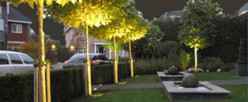 Geniet ook in de avond van uw tuin: